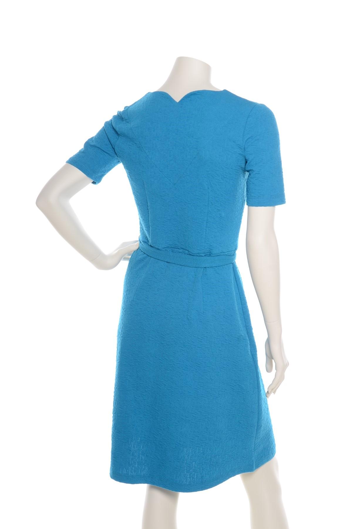 Bekend Wow To Go jurk blauw dig » Casual EK81