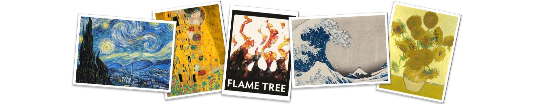 A Flame Tree
