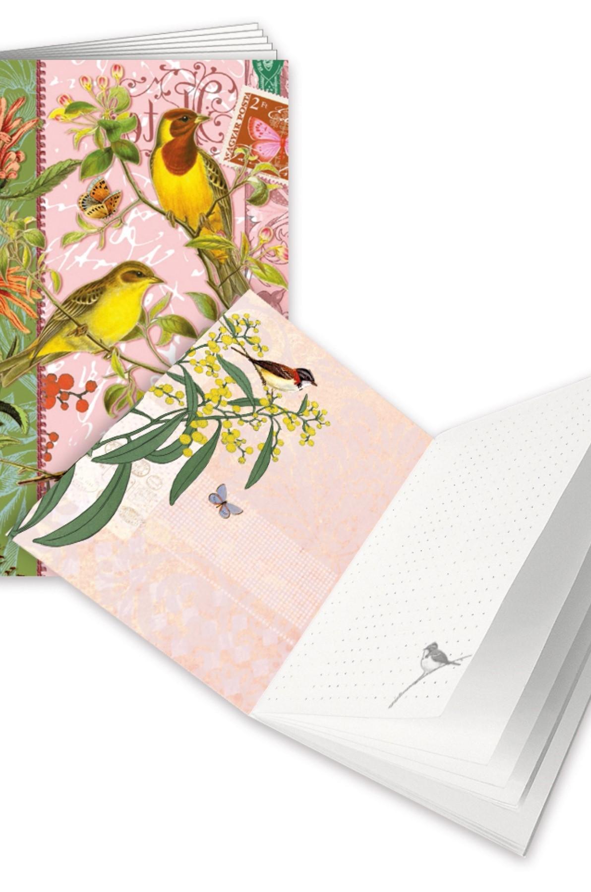Edition Tausendschön Schrift A6 Vogels