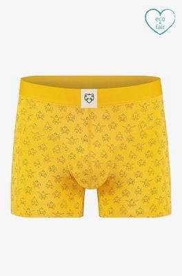 A-dam onderbroek tinus boxer brief geel
