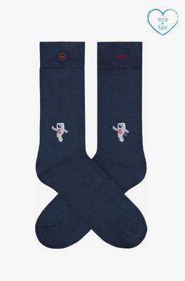 A-dam sokken andre blauw