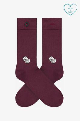 A-dam sokken brice bordeaux