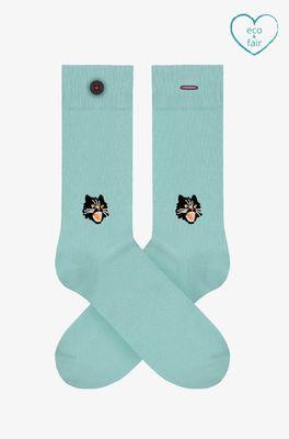A-dam sokken clair blauw
