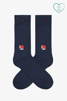 A-dam sokken moos blauw