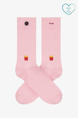 A-dam sokken siegfried roze