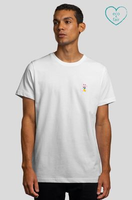 A-dam t shirt ton iconic tee wit