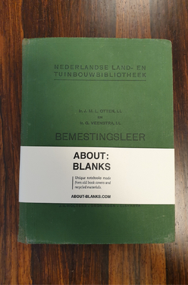 About Blanks Notitieboek Bemestingsleer