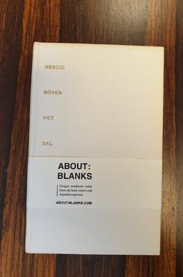 About Blanks Notitieboek Boven Het Dal