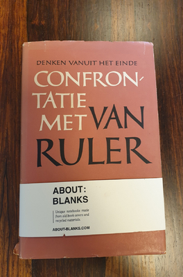 About Blanks Notitieboek Confrontati Met Van Ruler