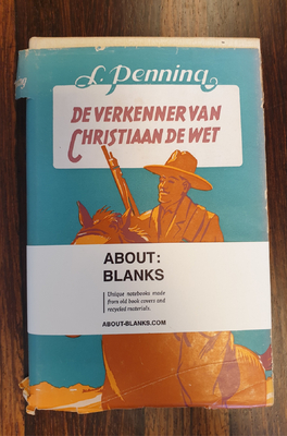 About Blanks Notitieboek De Verkenning Van Christaan De Wet