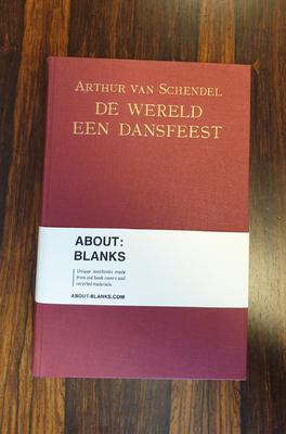 About Blanks Notitieboek De Wereld Een Dansfeest