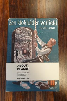 About Blanks Notitieboek Een Klokkenluider Verliefd