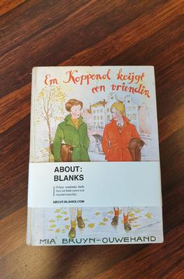 About Blanks Notitieboek Em Koppenol krijgt een vriendin