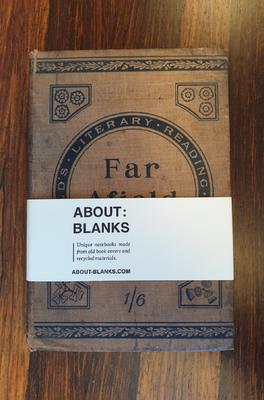 About Blanks Notitieboek Far Afield