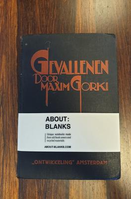 About Blanks Notitieboek Gevallen Door Maxim Gorki
