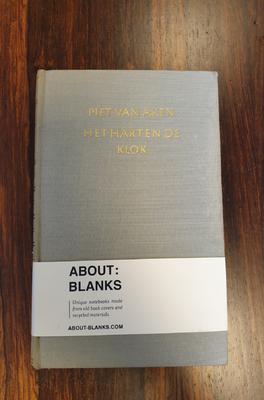 About Blanks Notitieboek Het Hart En De Klok