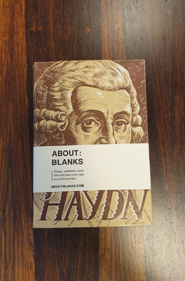 About Blanks Notitieboek Joseph Haydn