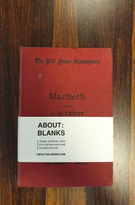 About Blanks Notitieboek Macbeth