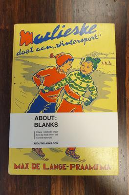 About Blanks Notitieboek Marlieske Doet Aan Wintersport