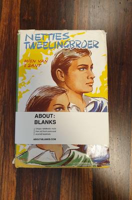 About Blanks Notitieboek Netties Tweelingbroer