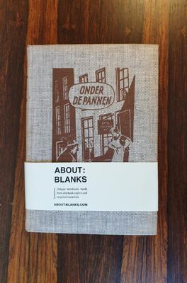 About Blanks Notitieboek Onder de pannen