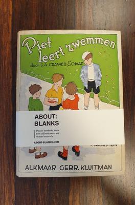About Blanks Notitieboek Piet Leert Zwemmen