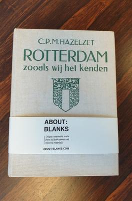 About Blanks Notitieboek Rotterdam zooals wij het kenden