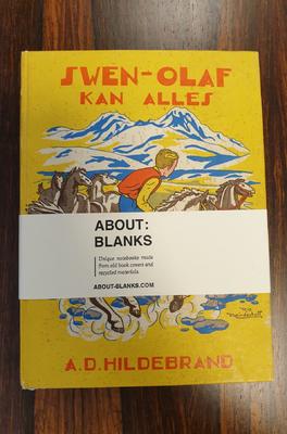 About Blanks Notitieboek Sven-Olaf Kan Alles