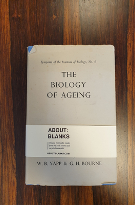 About Blanks Notitieboek The Biology Of Aging