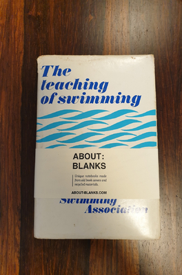 About Blanks Notitieboek The Teaching Of Swimming