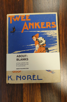About Blanks Notitieboek Twee Ankers