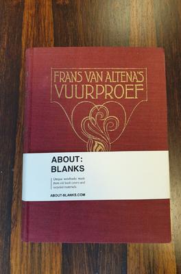 About Blanks Notitieboek Vuurproef