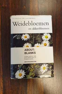 About Blanks Notitieboek Weidebloemen
