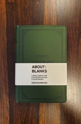 About Blanks Notitieboek Wunsche Schulflora
