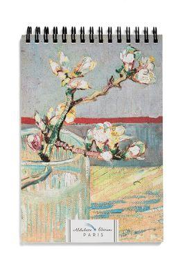 Alibabette schetsblok van Gogh Amandelbloesem