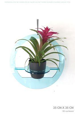 All things we like plantenhanger rond medium blauw