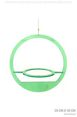 All things we like plantenhanger rond medium groen