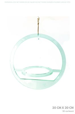 All things we like plantenhanger rond small blauw