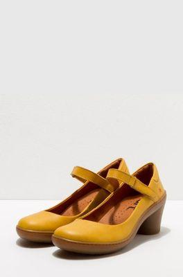 Art schoen alfama grass waxed geel