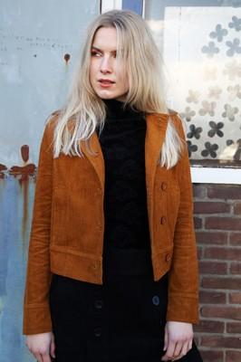Bakery Ladies jas corduroy bruin