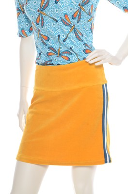 Bakery Ladies rok velours amber