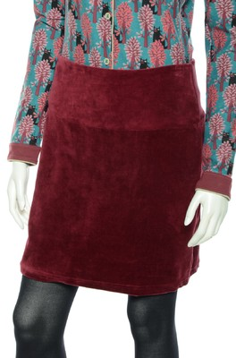Bakery Ladies rok skirt bordeaux