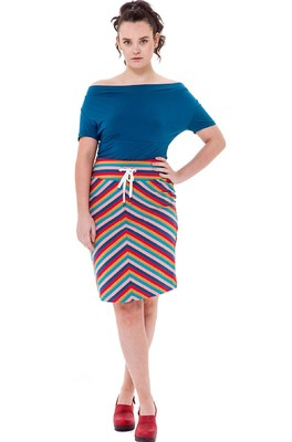 Bakery Ladies rok tube stripe multi