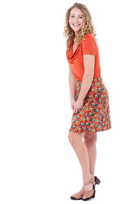 Bakery Ladies rok wrap oranje