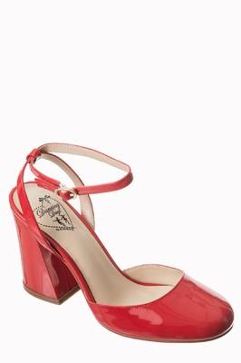 Banned schoen bnd rood