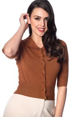 Banned vest april short sleeved bruin