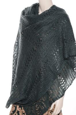 Bindi shawl big groen