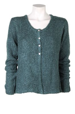 Bindi vest button cardigan groen