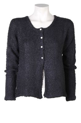 Bindi vest button cardigan zwart