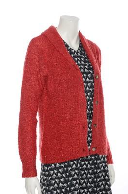 Bindi vest blazer rood